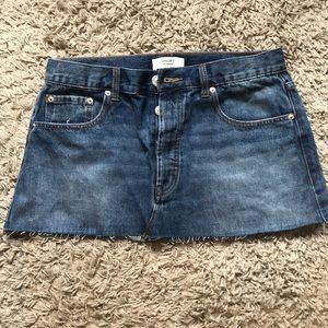 NWOT Jean Skirt